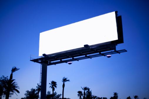 Beginnings「Blank billboard.」:スマホ壁紙(1)