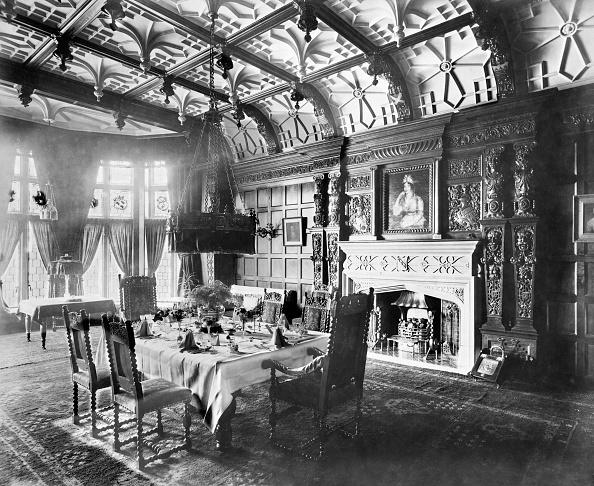 Wood Paneling「Victorian Dining Room」:写真・画像(2)[壁紙.com]
