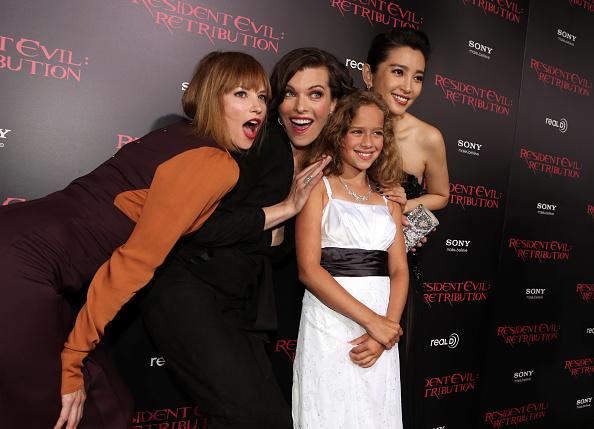 "Li Bingbing「Premiere Of Screen Gems' ""Resident Evil: Retribution"" - Red Carpet」:写真・画像(10)[壁紙.com]"