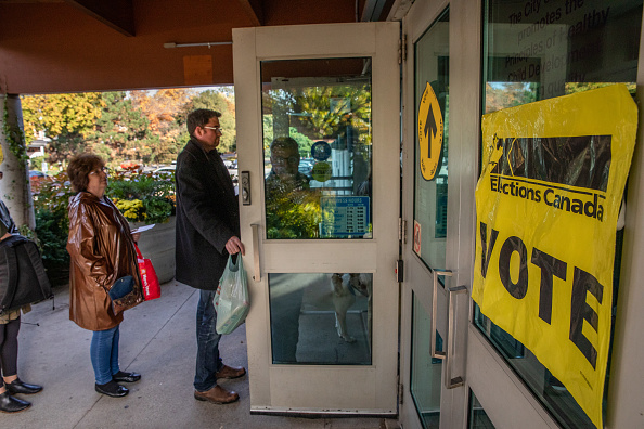 Canada「Canadians Head To The Polls For The National Election」:写真・画像(5)[壁紙.com]