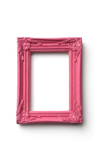 ピンク色「写真フレーム:ピンクフレーム」:スマホ壁紙(11)