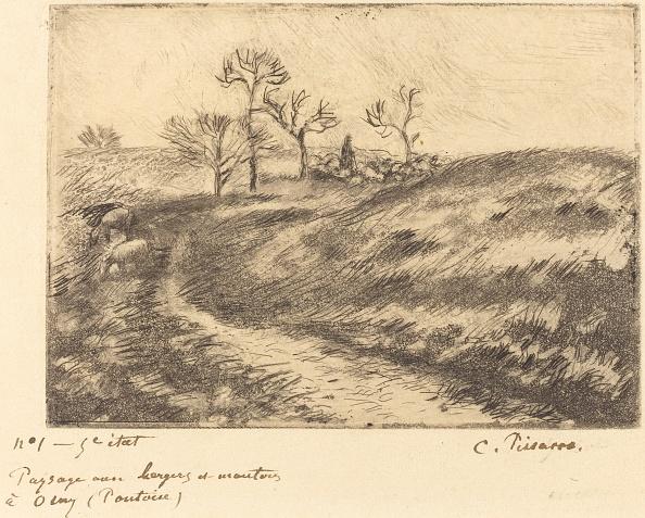 Grass Family「Paysage Avec Berger Et Moutons A Osny (Pontoise)」:写真・画像(14)[壁紙.com]