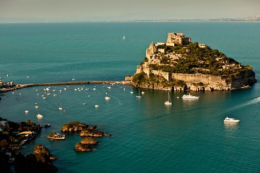 Tyrrhenian Sea「Ischia island」:スマホ壁紙(17)