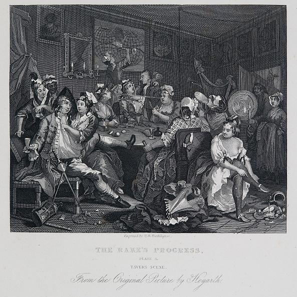 18th Century Style「A Rakes Progress: Tavern Scene,」:写真・画像(8)[壁紙.com]