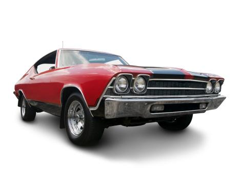 Hot Rod Car「Chevrolet Chevelle 1969」:スマホ壁紙(13)