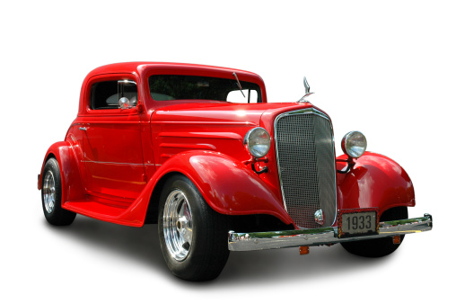 Hot Rod Car「1933 Chevrolet Coupe」:スマホ壁紙(10)