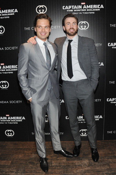 "Captain America: The Winter Soldier「The Cinema Society & Gucci Guilty Host A Screening Of Marvel's ""Captain America: The Winter Soldier"" - Arrivals」:写真・画像(16)[壁紙.com]"