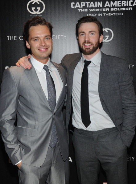 "Captain America: The Winter Soldier「The Cinema Society & Gucci Guilty Host A Screening Of Marvel's ""Captain America: The Winter Soldier"" - Arrivals」:写真・画像(2)[壁紙.com]"