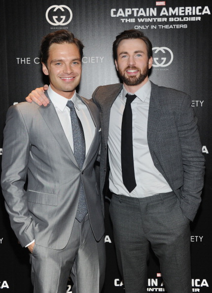 "Captain America: The Winter Soldier「The Cinema Society & Gucci Guilty Host A Screening Of Marvel's ""Captain America: The Winter Soldier"" - Arrivals」:写真・画像(0)[壁紙.com]"