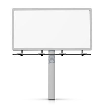 Vertical「Empty billboard - easy to cut out.」:スマホ壁紙(12)