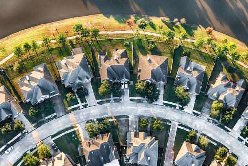 Cul-de-sac「Houston Master Planned Community Aerial」:スマホ壁紙(9)