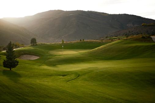 Golf Course「A golf course.」:スマホ壁紙(18)