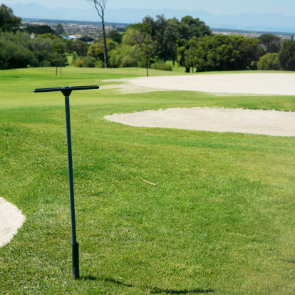 Sand Trap「Golf course with sand traps」:スマホ壁紙(11)