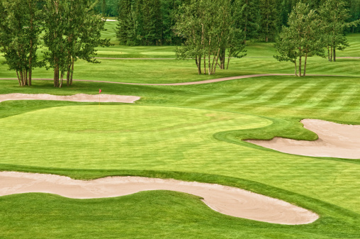 Sand Trap「Golf Course」:スマホ壁紙(9)