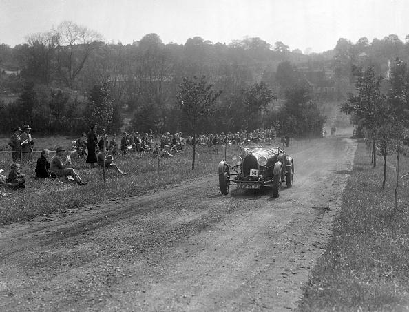 Recreational Pursuit「Bugatti Type 43, Bugatti Owners Club Hill Climb, Chalfont St Peter, Buckinghamshire, 1935」:写真・画像(12)[壁紙.com]