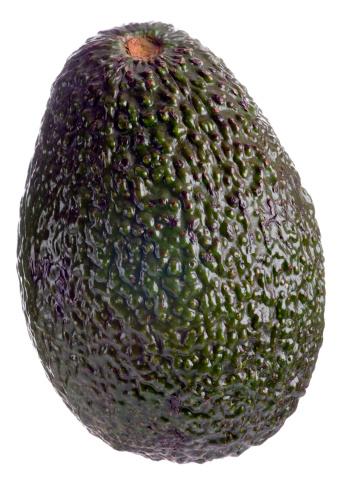Avocado「Whole avocado on white background」:スマホ壁紙(0)