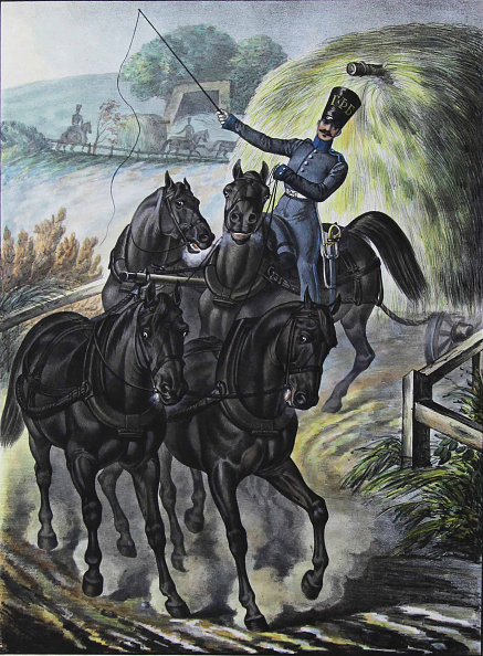 Brigade「Soldier of the Guards Supply Train Brigade, 1829」:写真・画像(9)[壁紙.com]