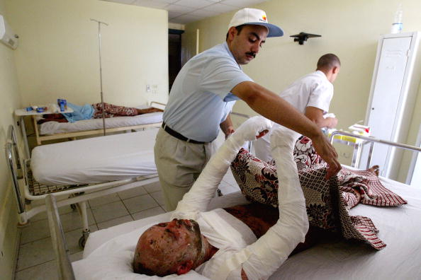 Uriel Sinai「Victims Recover After Egyptian Resort Bombing」:写真・画像(2)[壁紙.com]