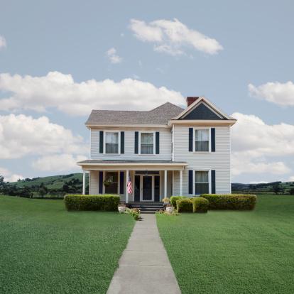 Rural Scene「Classic Turn of the Century American  House」:スマホ壁紙(11)