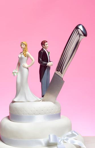 Females「Divorce wedding cake」:スマホ壁紙(6)