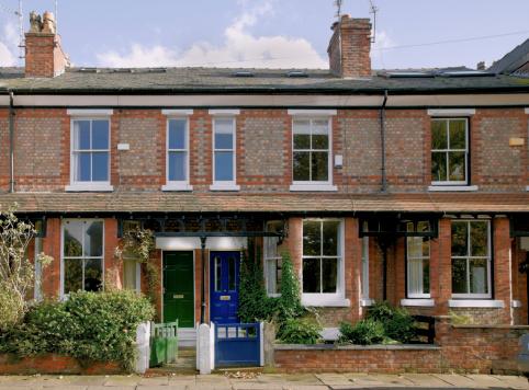 Front Door「Victorian Terrace, Didsbury, Manchester, UK-More buildings exteriors below」:スマホ壁紙(17)