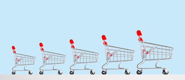 Continuity「Growing shopping carts」:スマホ壁紙(6)