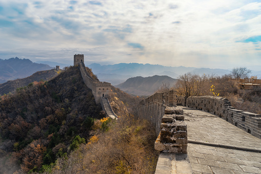 Ancient Civilization「Jinshanling Great Wall, located in Hebei province」:スマホ壁紙(17)