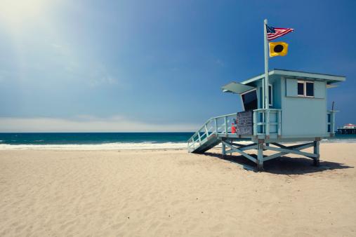 City Of Los Angeles「Lifeguard hut」:スマホ壁紙(4)