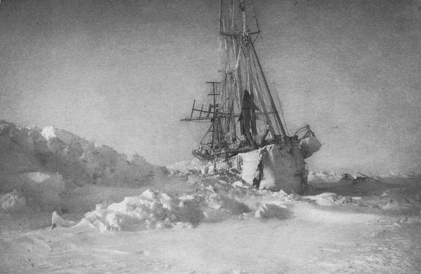 Snowdrift「'The Fram in the Ice', 1895,」:写真・画像(6)[壁紙.com]