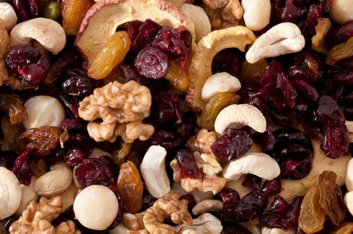 Crunchy「dried fruits close-up」:スマホ壁紙(13)