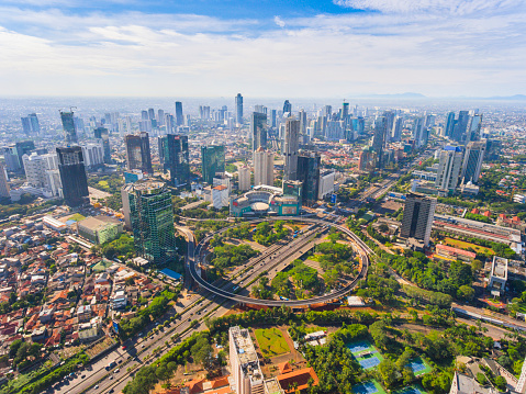 Indonesia「Jakarta's New Icon, Semanggi Overpass, in a Super Bright Day」:スマホ壁紙(2)