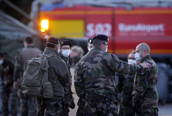 Mulhouse「French Military Builds Field Hospital To Cope With COVID-19 Cases」:写真・画像(0)[壁紙.com]