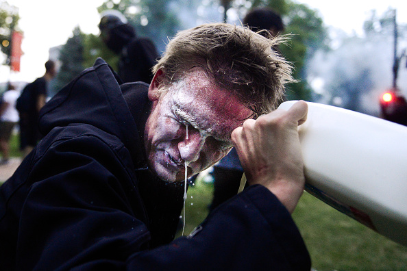 Pouring「Protests Continue At Capitol In Denver In Aftermath To Death Of George Floyd」:写真・画像(7)[壁紙.com]