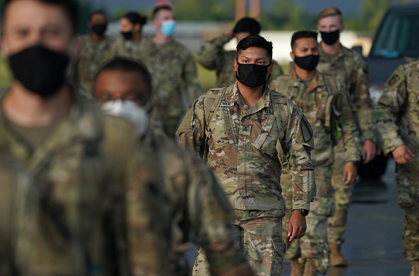 Army Soldier「U.S. Troops Arrive In Poland For Military Exercises」:写真・画像(9)[壁紙.com]