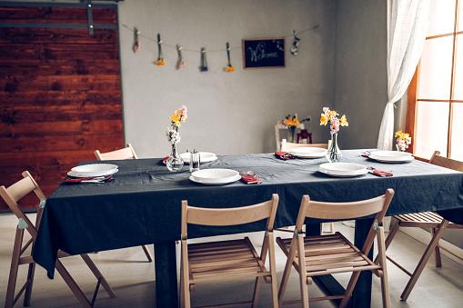Place Setting「Dinner table」:スマホ壁紙(19)