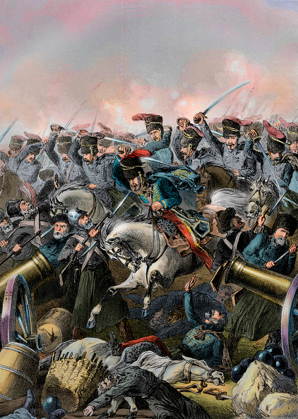 Brigade「The charge of the light brigade at Balaclava led by Lord Cardigan during the Battle of Balaclava on 25 October 1854 in the Crimean War」:写真・画像(1)[壁紙.com]
