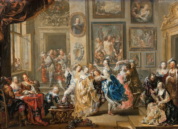 Baroque Style「Dancing Scene With Palace Interior」:写真・画像(10)[壁紙.com]