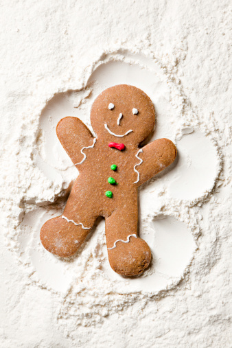 Gingerbread Cookie「Decorated Ginger Snow Angel」:スマホ壁紙(15)
