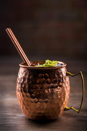 Mint Leaf - Culinary「Moscow Mule in a Copper Mug (Click for more)」:スマホ壁紙(7)