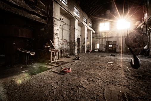 The Past「Old industrial building」:スマホ壁紙(11)
