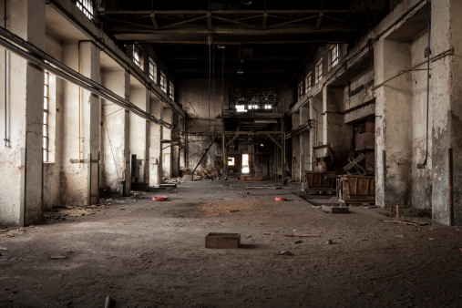 High Dynamic Range Imaging「Old industrial building」:スマホ壁紙(2)