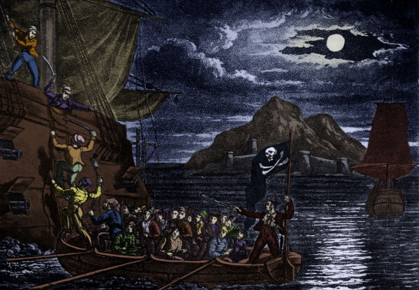 17th Century「Pirates boarding a Spanish vessel, West Indies.」:写真・画像(10)[壁紙.com]