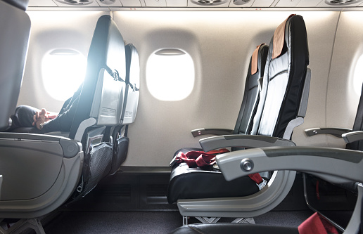Business Travel「airplane seat in the airplane」:スマホ壁紙(7)