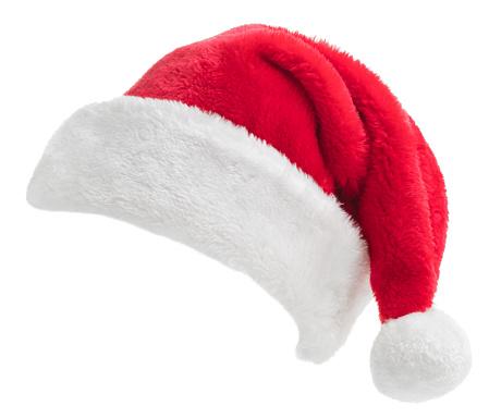 Hat「Santa Hat on white」:スマホ壁紙(12)