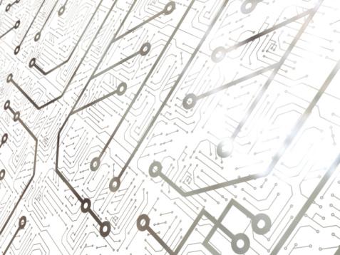 Circuit Board「Technology background」:スマホ壁紙(10)