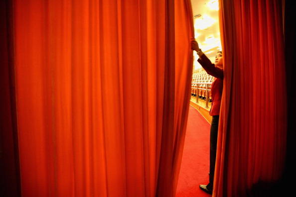 Curtain「Opening Sesson of The Chinese People's Political Consultative Conference」:写真・画像(7)[壁紙.com]