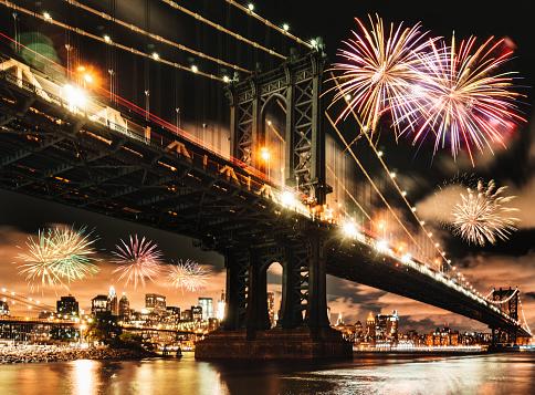 花火「ニューヨークで7月4日」:スマホ壁紙(2)