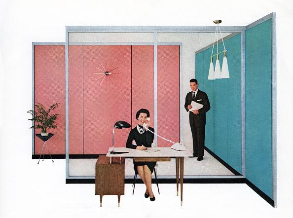 Working「1950s Secretary And Boss」:写真・画像(18)[壁紙.com]
