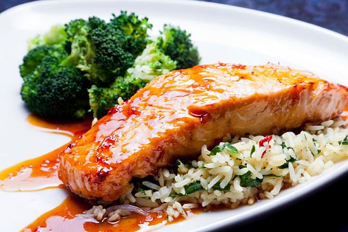 Glazed Food「Glazed Salmon」:スマホ壁紙(15)