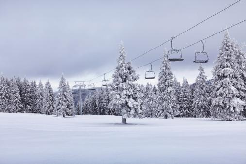 Ski Slope「Ski Lift」:スマホ壁紙(14)
